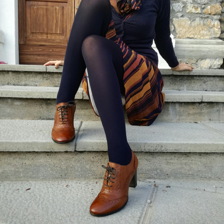 Scarpe francesine, come indossarle