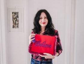 Recensione borse Mughy for You - The Fashion Cherry Diary - borsa rossa pochette personalizzata